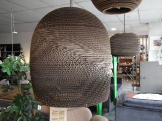 Gray pants kartonnen hanglamp groot