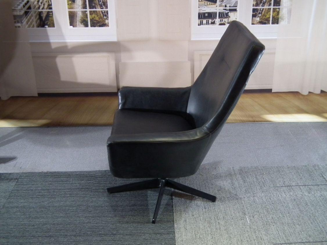 Design Leren Draaifauteuil.Don Lounge Chair Van Dutchtone Leren Draaifauteuil Design4all