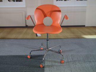 Bureaustoel oranje