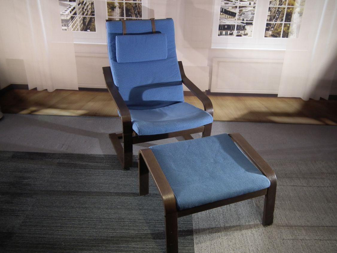 Poang Ikea vintage fauteuil