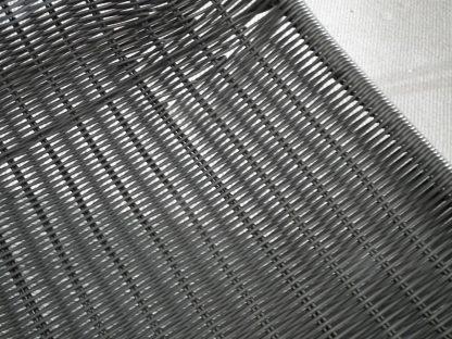 rieten stoel zwart